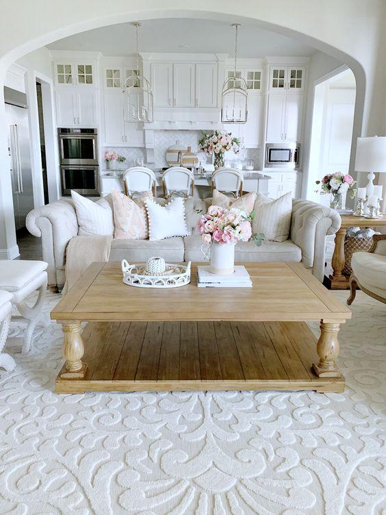 farmhouse living room ideas 5