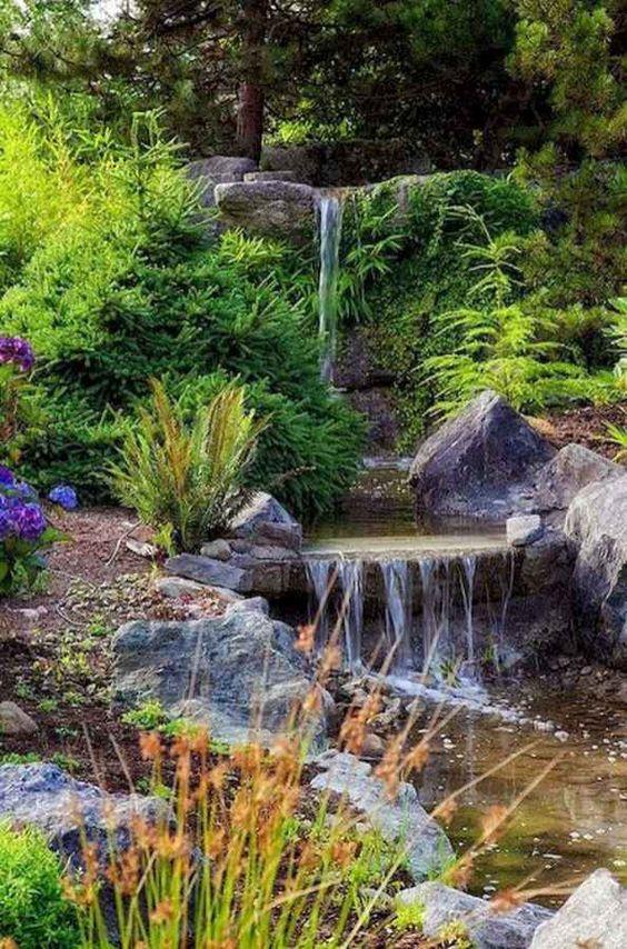 Backyard Water Feature Ideas 12