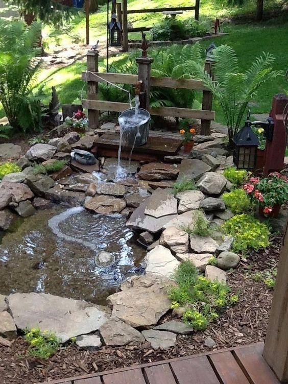 Backyard Water Feature Ideas 18