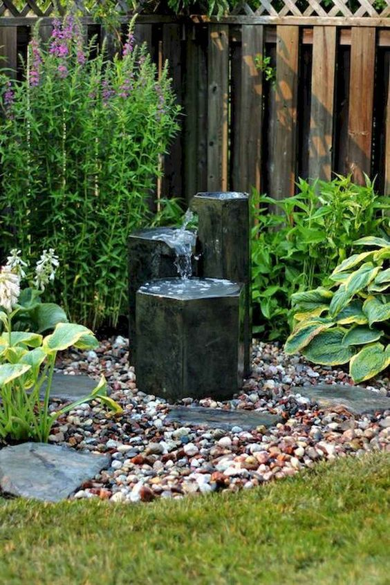 Backyard Water Feature Ideas: Simple Mini Fountain