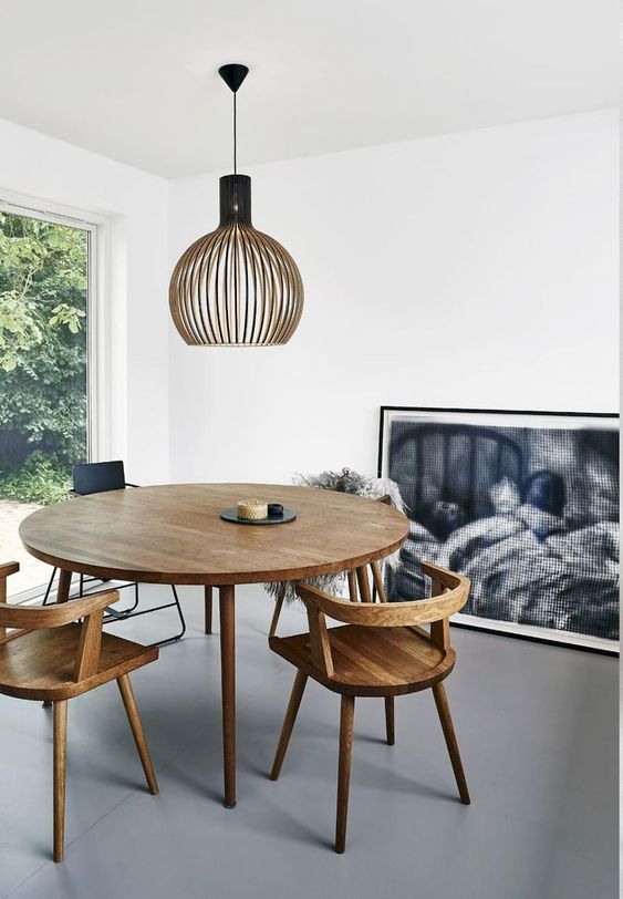 Minimalist Dining Room Ideas: Simple Dining Set