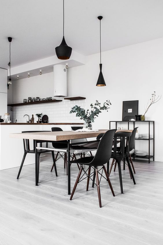 Dining Room Minimalist Ideas 8