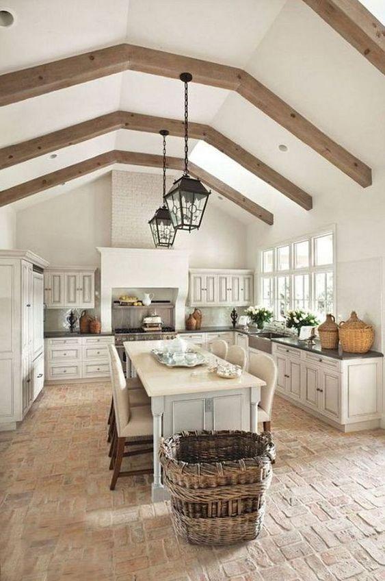 Open Kitchen Ideas: Open Farmhouse Style