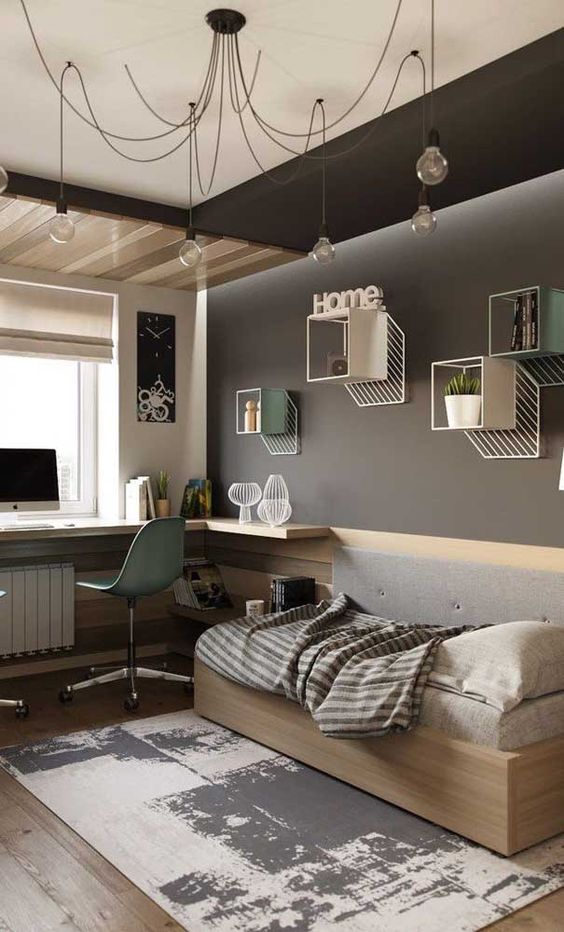 Boys Bedroom Ideas: Stylish Modern Concept