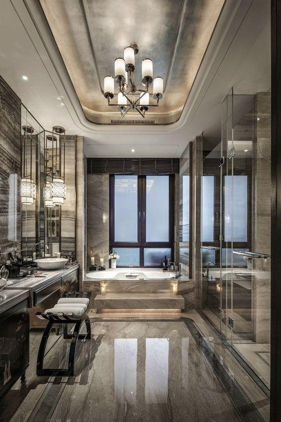 Luxury Bathroom Ideas: Breathtaking Bathroom Layout