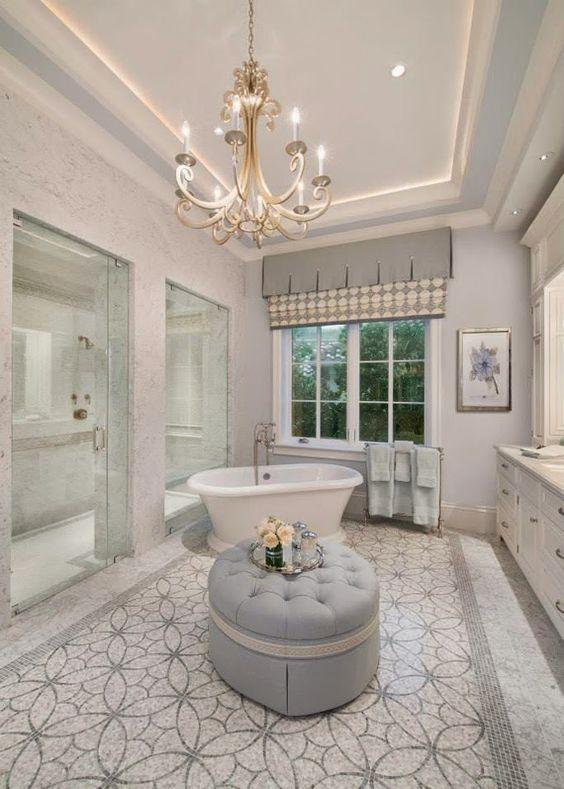 Luxury Bathroom Ideas: Elegant All-White