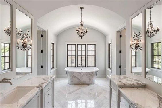 18+ Mesmerizing Luxury Bathroom Ideas You Wish You Had