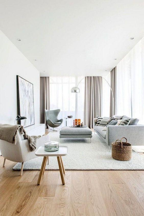 Scandinavian Living Room Ideas: Elegant Cool Tones