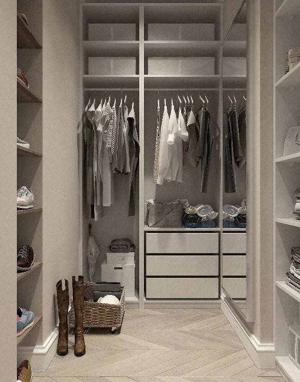Advantages of Using Fitted Wardrobes Over Free-Standing Wardrobes