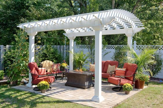 10+ Backyard Pergola Ideas to Make Your Outdoors Looks Outstanding